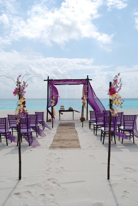 ceremonia ślubna na plaży