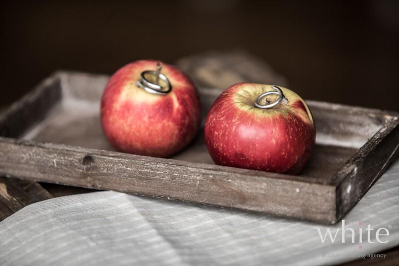 ślubne jabłka