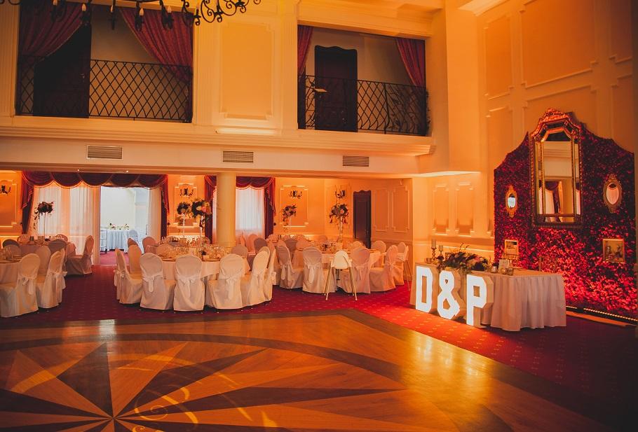 dekoracje światłem na wesele