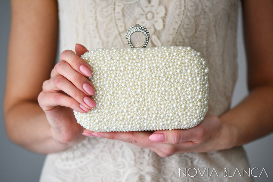 biżuteria ślubna torebka