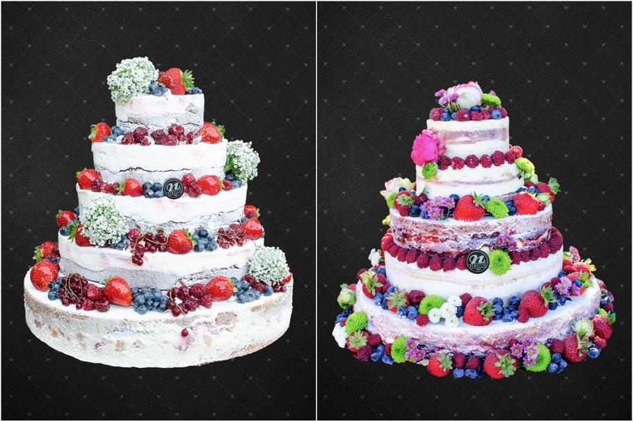 naked cake torty weselne poznań nowaczyk