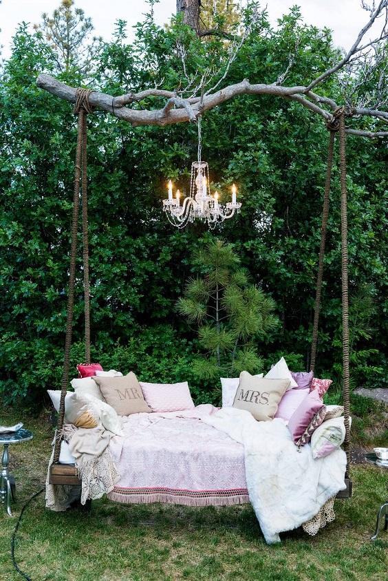 wiszące ogrody na weselu