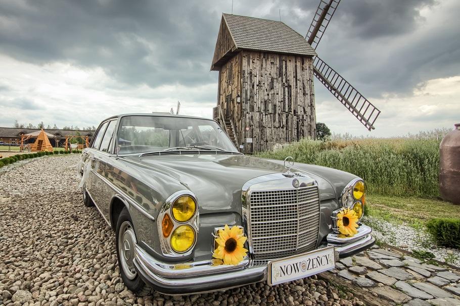 auto do ślubu