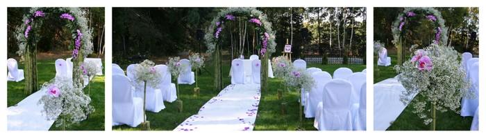 gardenia dekor dekoracje ślubu i wesela wiązanki  ślubne