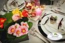 dekoracja sali weselnej, świeczki