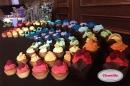 kolorowe muffiny na wesele bochnia