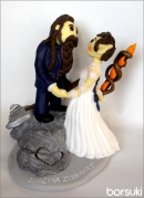 spersonalizowana figurka na tort