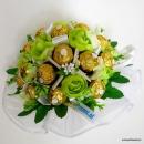Galeria Uroczy Prezent - bukiety ślubne z guzików i cukierków