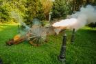 Atrakcja weselna - odpalona armata
