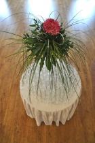 stół weselny, dekoracje