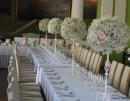dekoracja stołów wesele