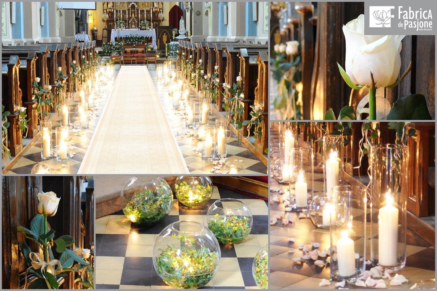 Dekoracja ślubna Kościoła Dekoracje ślubne Dekoracja Kościoła