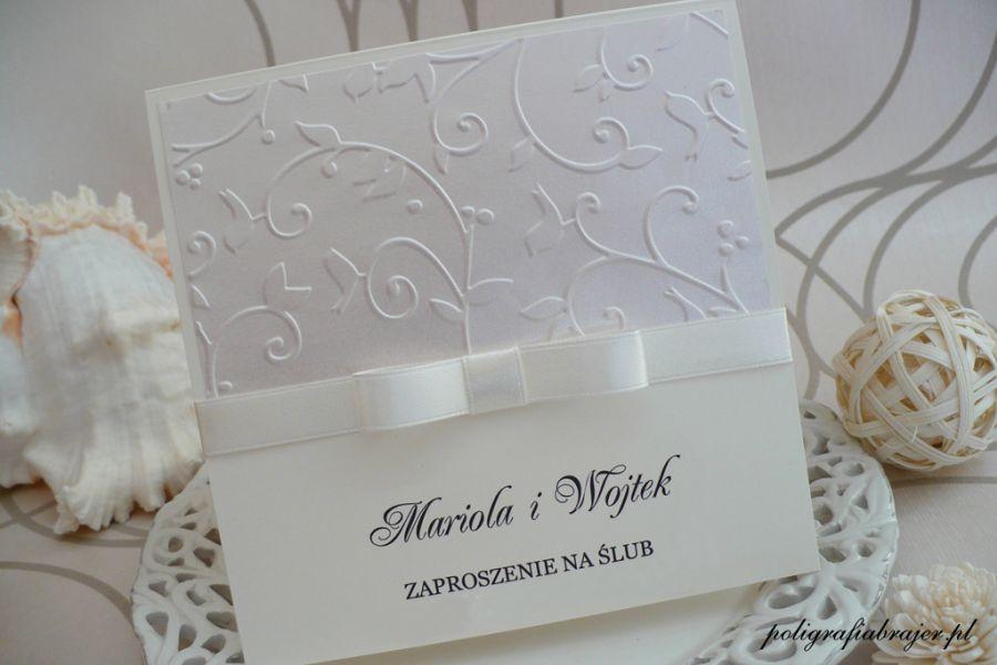 Poligrafia Brajer Zaproszenia ślubne I Dodatki Sklep Internetowy