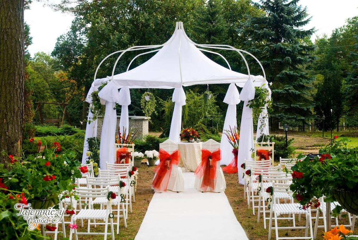 ślub W Plenerze Dekoracje ślubne ślub W Plenerze ślub W Ogrodzie