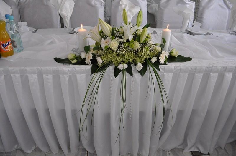 Ogromnie Dekoracja ślubna wesele » Dekoracja sali weselnej, dekoracja stołu XE94