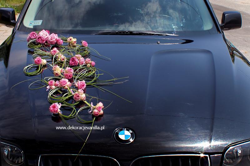 Dekoracja ślubna Samochodu Pobieramysię