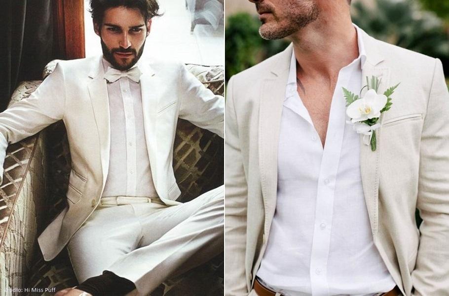 7b96a9f71eec4 Zapytaj Konsultanta Ślubnego: Biały garnitur