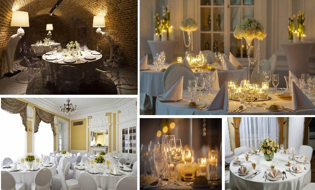 miejsce na wesele, małe przyjęcie