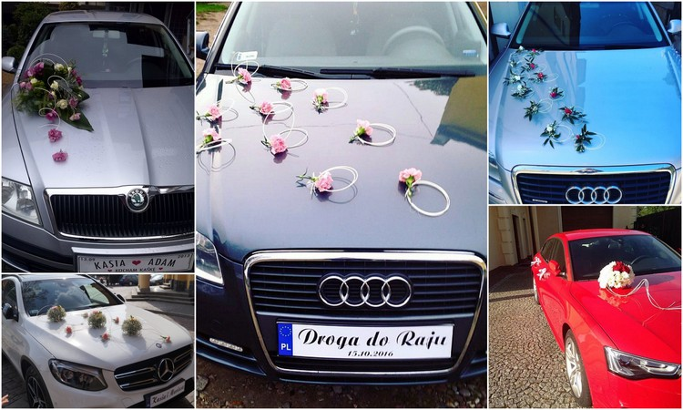 dekoracja samochodu Białogard