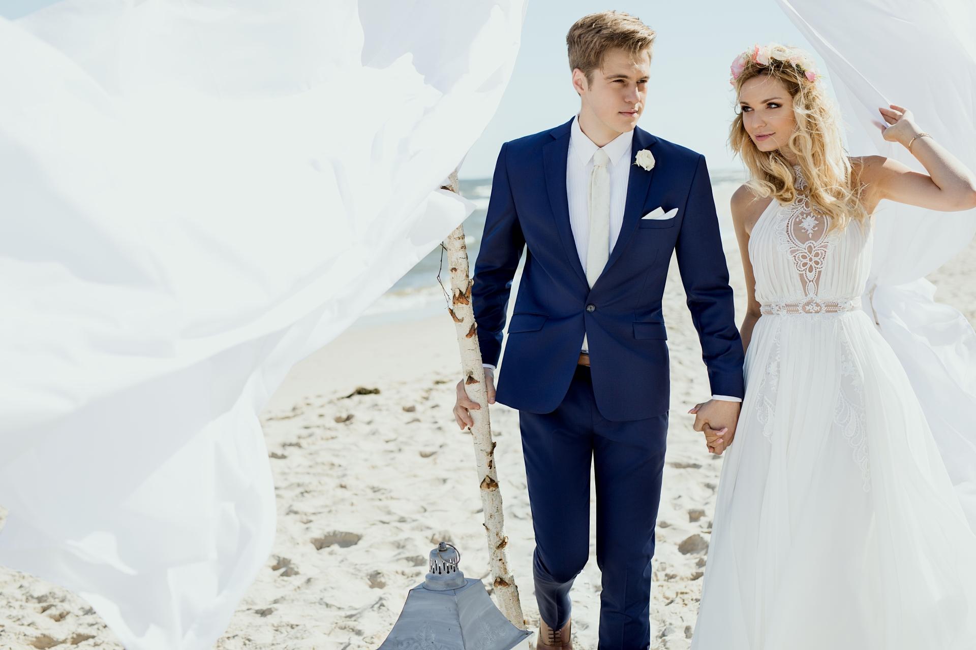 garnitur ślubny poznań
