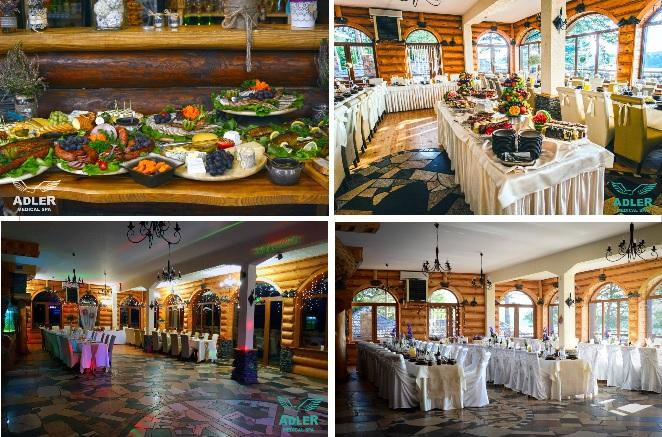 ślub i wesele w plenerze, sala weselna