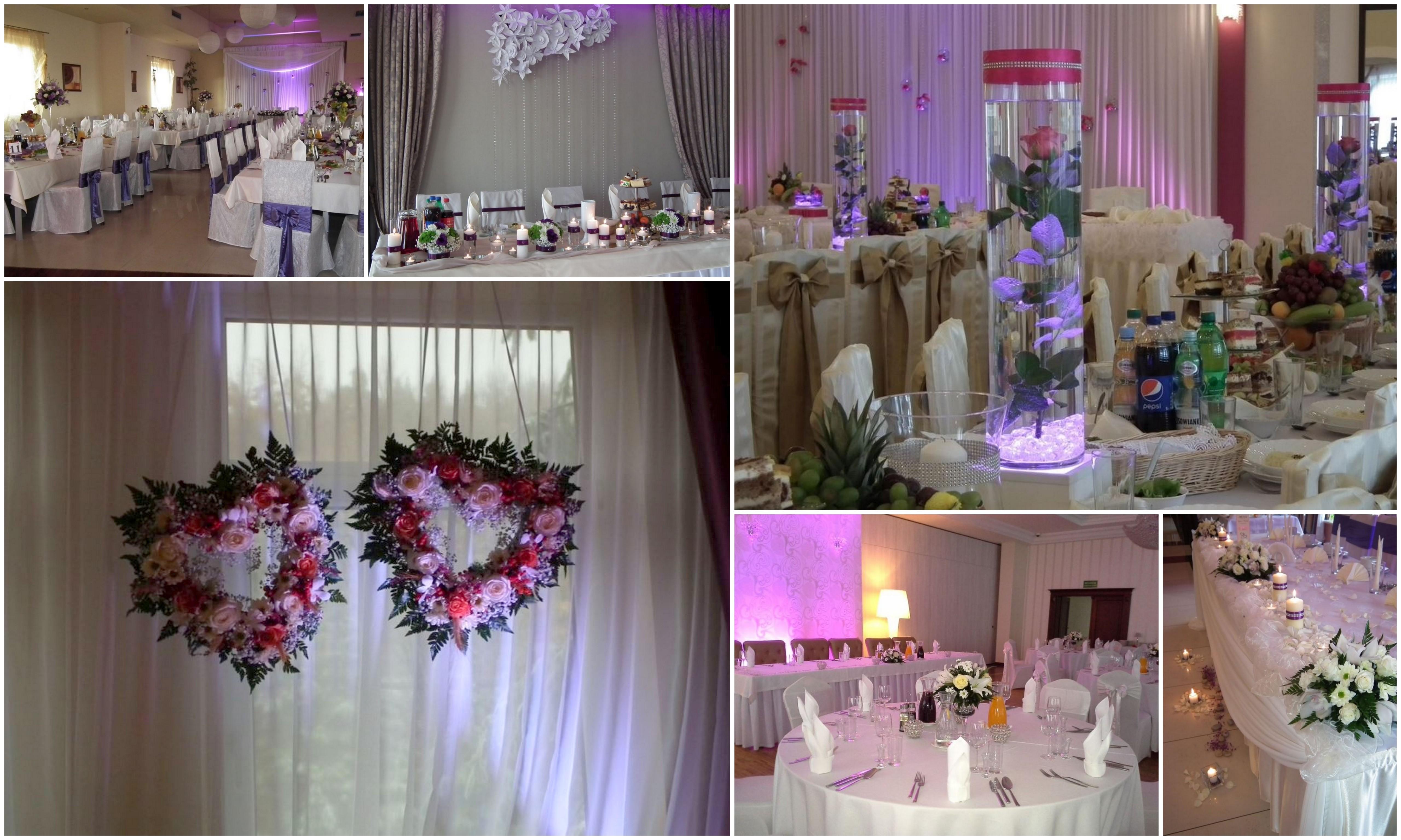 dekoracje na wesele kielce