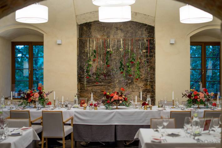 dekoracje sali weselnej kraków