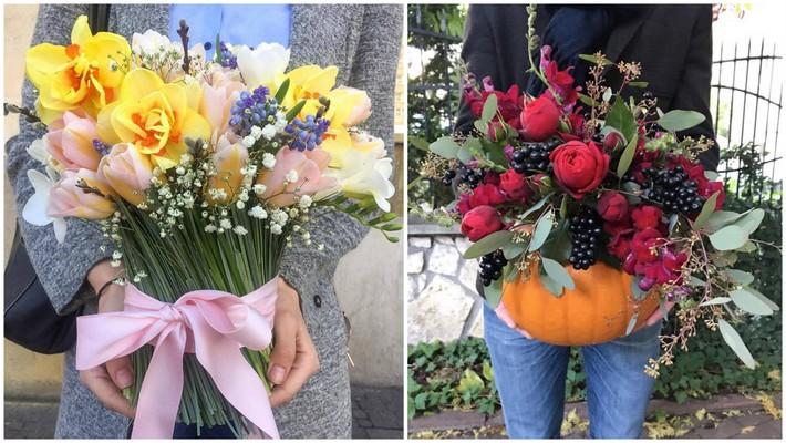 kwiaty na ślub kraków