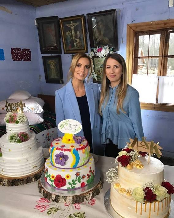 i nie opuszczę cię aż do ślubu tort