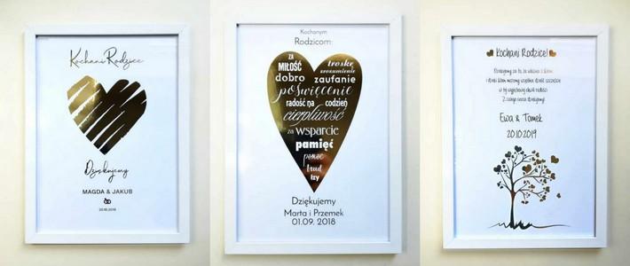plakat dla rodziców