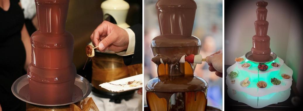 fontanna czekoladowa na wesele Słupsk