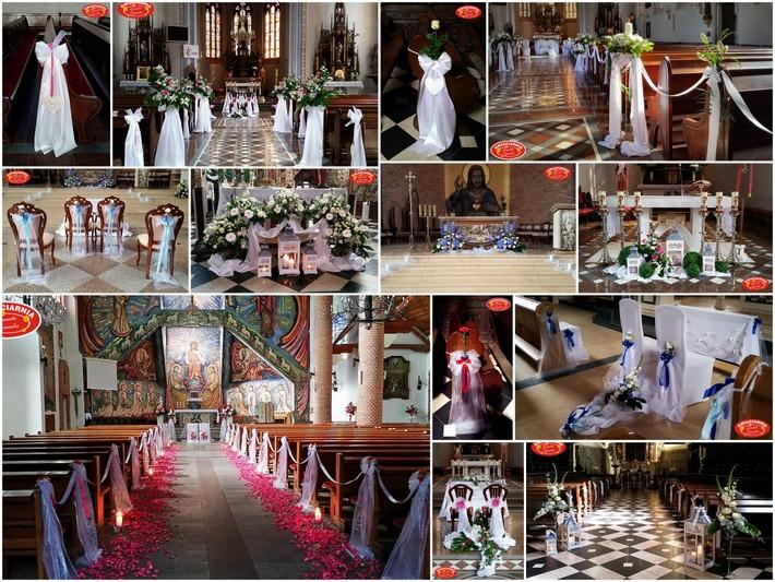 dekoracje kościoła kartuzy