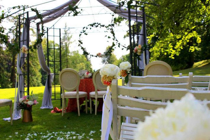 dekoracje ślubu w plenerze wrocław