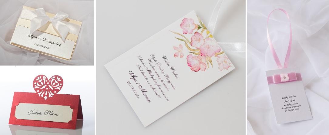oprawa graficzna na wesele