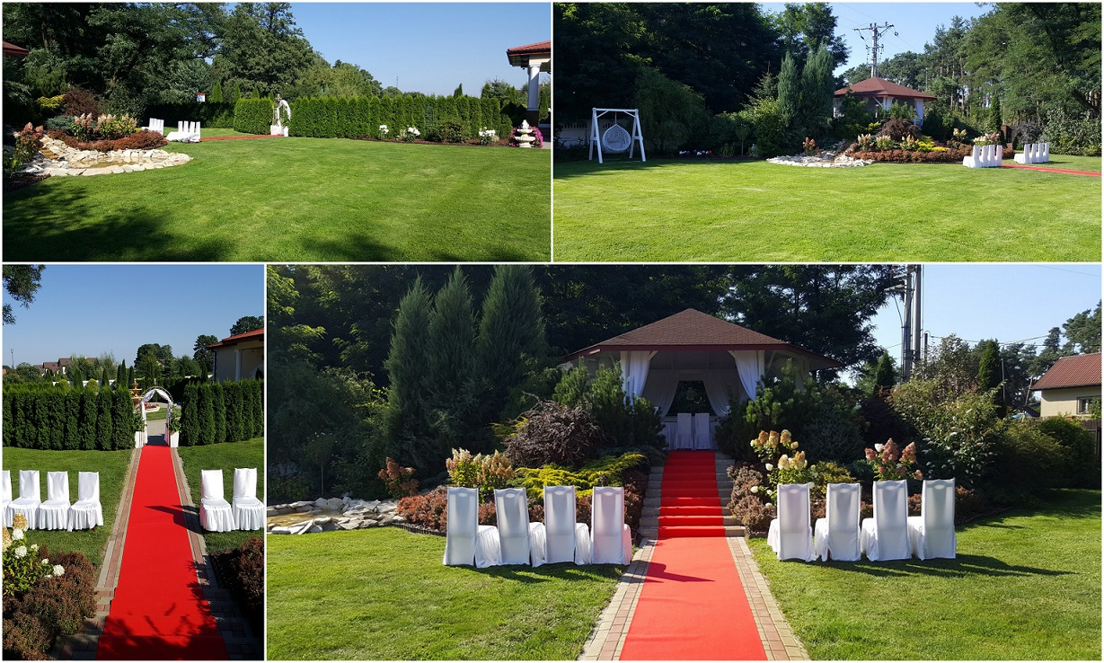 wesele w plenerze  Augustów