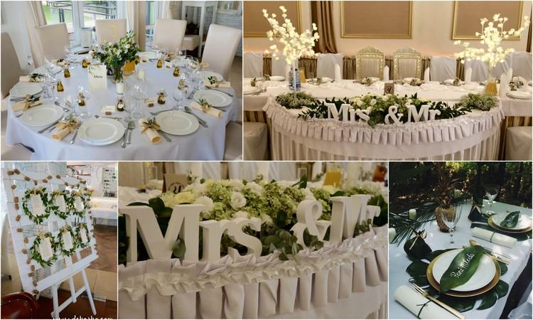 dekoracja sali weselnej katowice